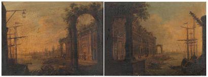 École Flamande ou Hollandaise du XVIIIe siècle