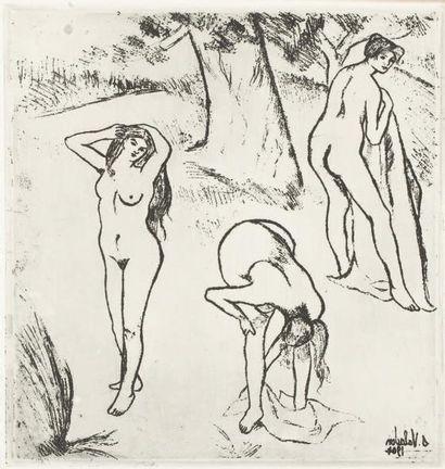 VALADON Suzanne, 1865 -1938