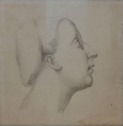 ÉCOLE FRANÇAISE début XIXe siècle