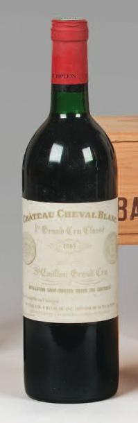 1 Bouteille CH. CHEVAL BLANC, 1° Grand cru...