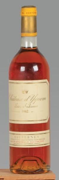 1 Bouteille CH. YQUEM, 1° cru supérieur Sauternes...