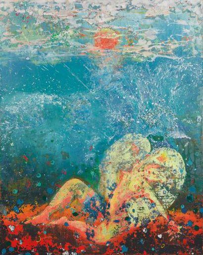 YILDRIM Mustafa Samothrace Technique mixte sur toile, 150 x 120 cm