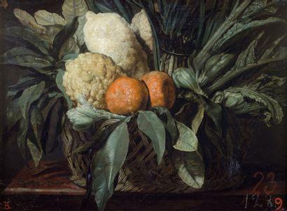 Attribué à Giovanni Battista RUOPPOLO (1629-1693) Attribué à Giovanni Battista RUOPPOLO...