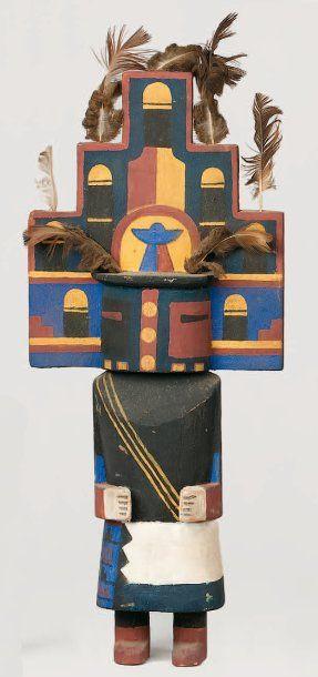 Kachina HEMIS HOPI(Arizona), circa 1960 Echarpe...