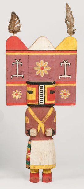 Kachina SIO HEMIS HOPI (Arizona), circa 1960...