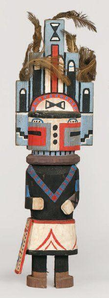 Kachina HEMIS HOPI (Arizona), circa1960 Tableta...