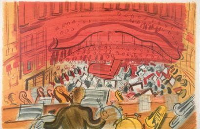 DUFY Le concert des anges Texte de J.Witold, compositions de R. DUFY ; préface de...