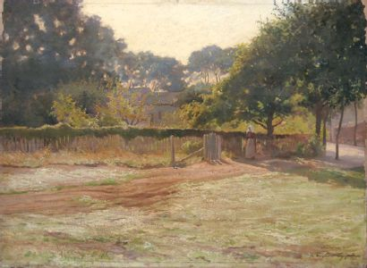 Le soleil boit la rosée, 1911 Huile sur toile...