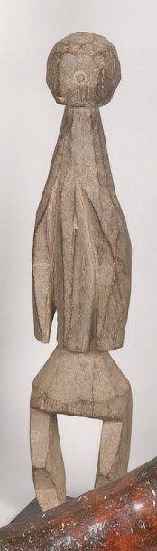 Statuette en bois. Mumuyé, Nigeria. H.: 39...