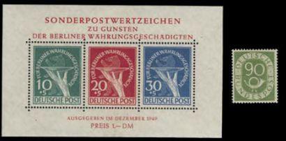 RAF, BERLIN, DDR Ø, **, * collection en 4...