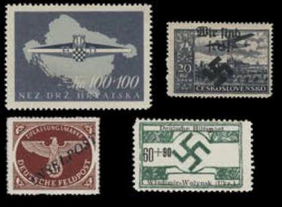 Anciens Etats Allemands et REICH zone d'occupation...