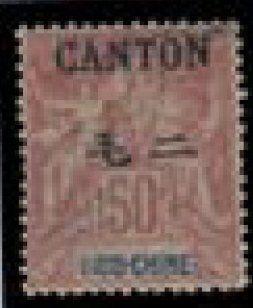 CANTON N° 17/32 *, le 50 c. signé. Photo...