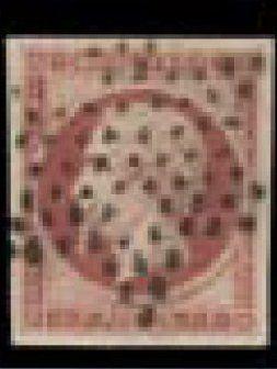 FRANCE N° 18 Ø, faux de SPERATI, signé du faussaire au crayon. Photo
