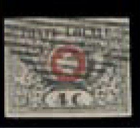 SUISSE N° 5 Ø, faux de SPERATI,signé du faussaire...