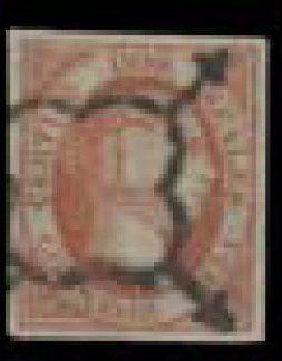 ESPAGNE N° 8 Ø, faux de SPERATI, signé du...