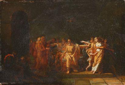 Attribué à Pierre Nolasque BERGERET (1782- 1863)