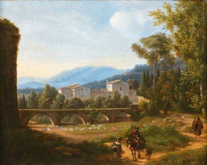 Attribué à Alexandre Hyacinthe DUNOUY (1757- 1841)