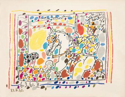 Pablo PICASSO A los toros mit Picasso Texte von Jaime Sabartes, verlag André Sauret,...