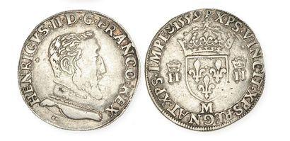 FRANCOIS II (1559 - 1560). Teston au nom...