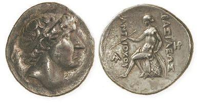 SYRIE, Antiochus I Soter (281-261). Tétradrachme...