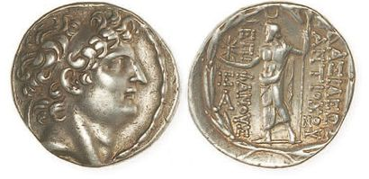 SYRIE, Antiochus VIII Grypus (125 - 96)....