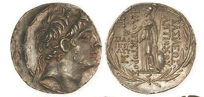 SYRIE, Antiochus IX (116 - 95). Tétradrachme...