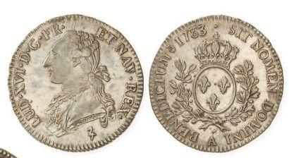 IDEM. Demi écu aux branches d'olivier, 1783...