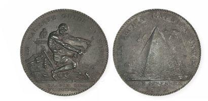 CONVENTION (1792- 1795) Essai à la pyramide...