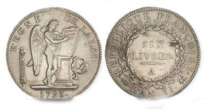 IDEM. Un troisième exemplaire, 1793 A. TTB,...
