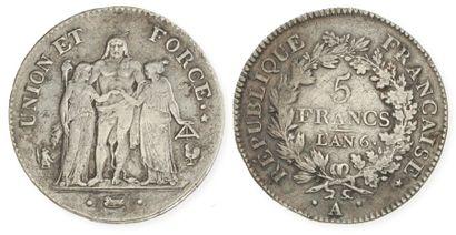 IDEM. Un deuxième exemplaire, an 6A (1797...