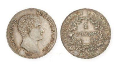 IDEM. 1 franc, an 12 Paris. G 442. Super...