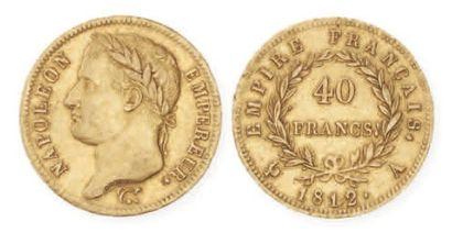 IDEM. 40 francs, tête laurée, 1812 A. G 1084....