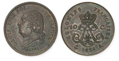 IDEM. Essai en bronze de 10 centimes des...