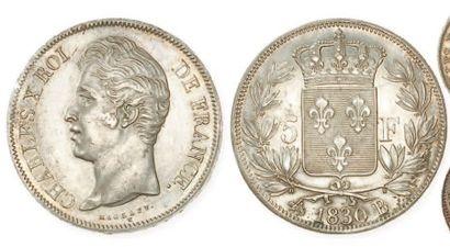 IDEM. 5 francs 1830 Rouen (2e type). G 644....