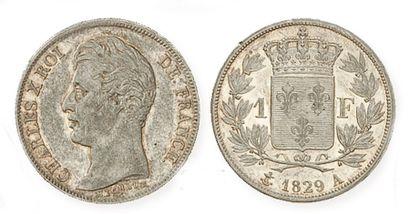 IDEM. 1 franc, 1829 A (sans points).G 450....