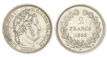 IDEM. 2 francs 1848 A. G 520. Presque superbe...