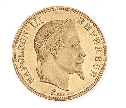 IDEM. 100 francs, tête laurée, 1869 A. G...