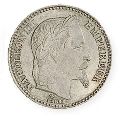 IDEM. Très rare FAUSSE 20franc or ,1865 A,...