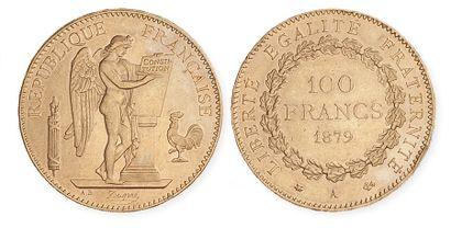 IIIe REPUBLIQUE (1871 - 1940). 100 francs...