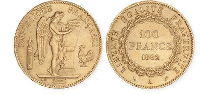 IDEM. 2e exemplaire, 1882 A. Presque sup...