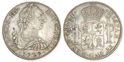 MEXIQUE, Charles III (1760 - 1788). Ecu de...
