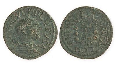 PHILIPPE PERE (244 - 249). Sesterce à l'Equité...
