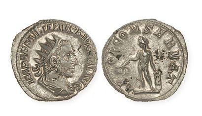 EMILIEN (253- 254). Antoninien à l'Apollon...