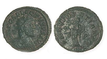 ALLECTUS (293- 296). Antoninien de bronze...