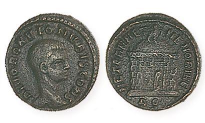 ROMULUS (mort en 309), fils de Maxence. Demi-follis...