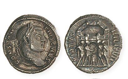 CONSTANCE CHLORE (302- 306). Argenteus aux...