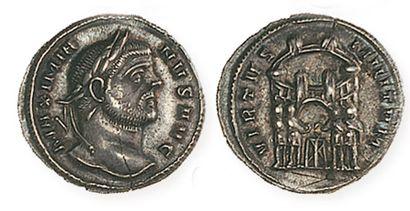 MAXIMIEN HERCULE (2e règne 306-308). Argenteus....