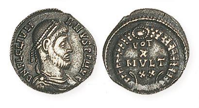 JULIENII (361 - 363). Silique à revers VOTX...