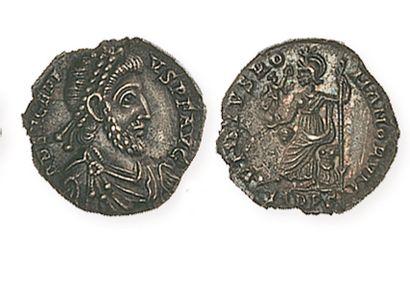 EUGENE (392- 394). Silique de Milan. R /Rome...