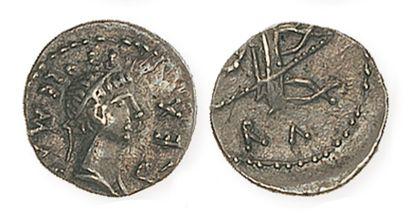 MAURETANIE, Ptolémée (23 - 40). Denier du...